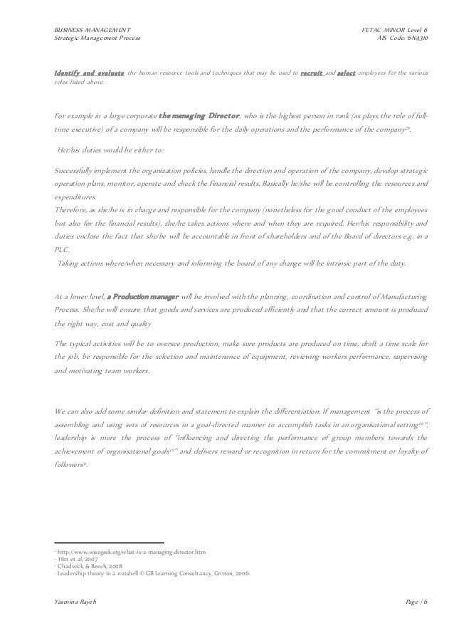 louis vuitton strategic process managementAd Interim Manager.htm #12