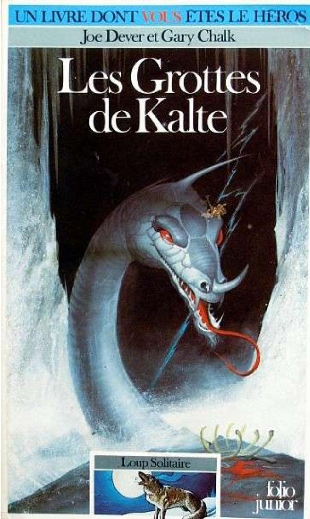 Joe Dever Les Grottes de Kalte Loup Solitaire /3 Traduit de l'anglais par Camille Fabien Illustrations de Gary Chalk Galli...