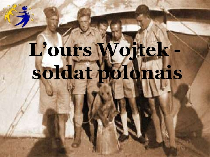 L'ours Wojtek -soldat polonais