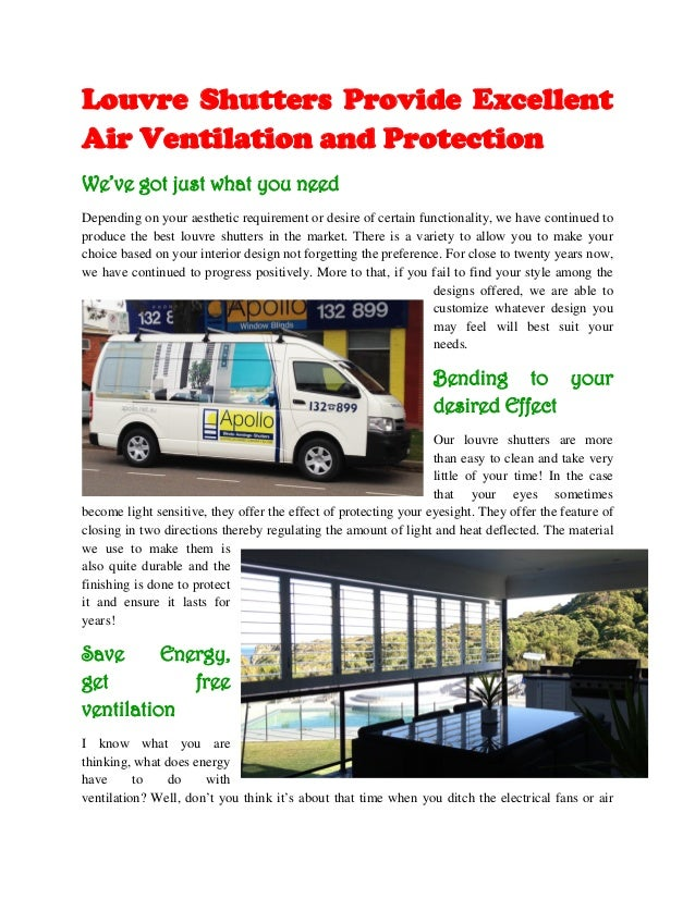 Louvre Shutters Provide Excellent Air Ventilation and Protection We've got just what you need Depending on your aesthetic ...