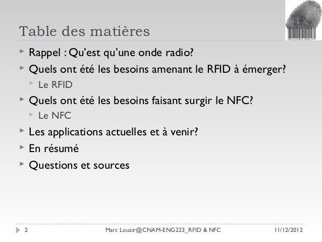 Louzir,marc rfid & nfc vague3-v3 Slide 2