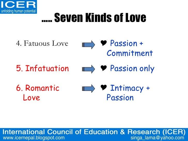 seven kinds of love