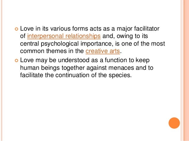 the different definitions of love that varies from one person to another It can be done by 10 different communication is the transmission or ideas or thought from one person to another communication is a skill or act of one.
