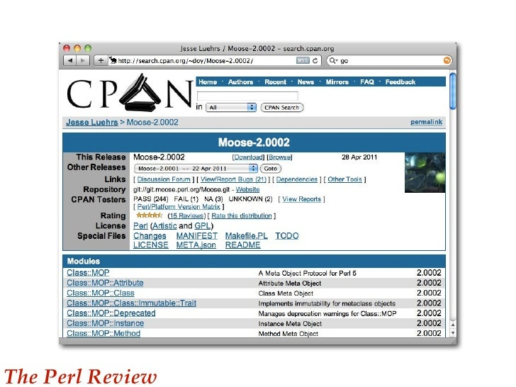 Search the CPAN - metacpan.org