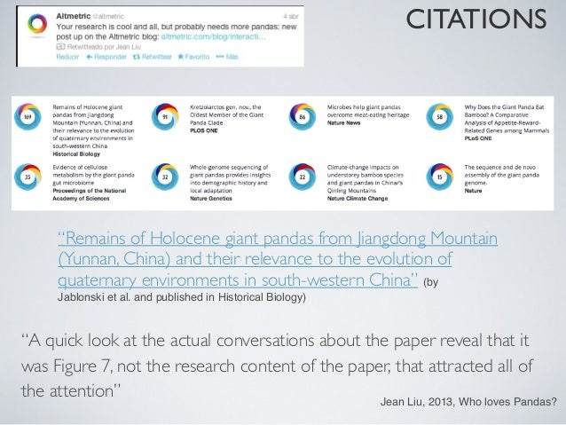 """CITATIONS""""A quick look at the actual conversations about the paper reveal that itwas Figure 7, not the research content of..."""
