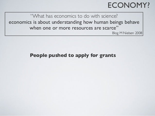 ECONOMY?Examples of advices to improve chances of getting a grant:  •title of the project counts 50%  •proposals circulate...