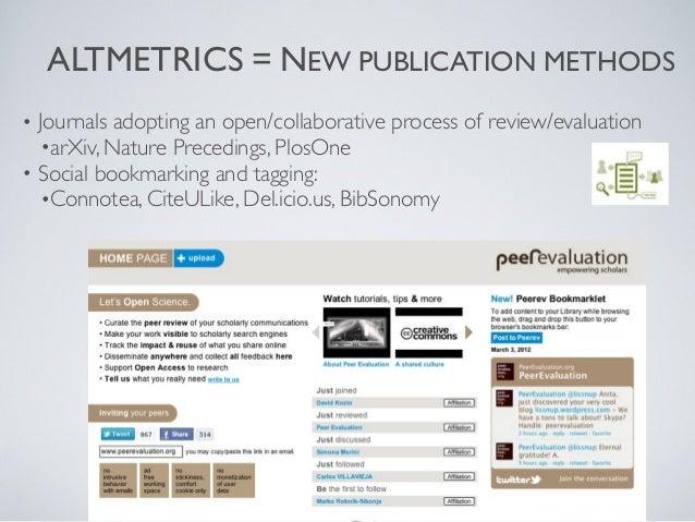 NEW PUBLICATION METHODS                 NANOPUBLICATIONS             Smallest unit of publishable information             ...