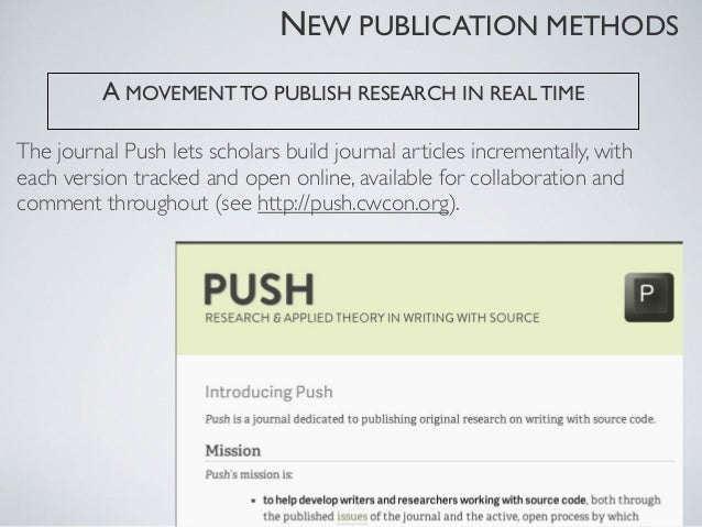 publishing articles like            software releasesversioned DOIs   formal