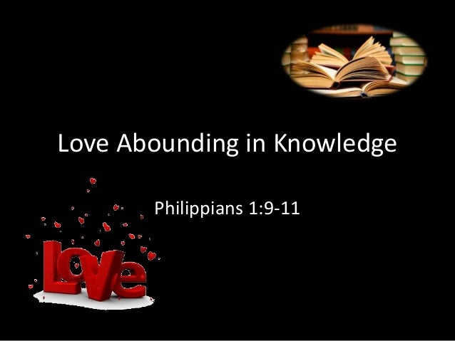 And Though My Love Abounding