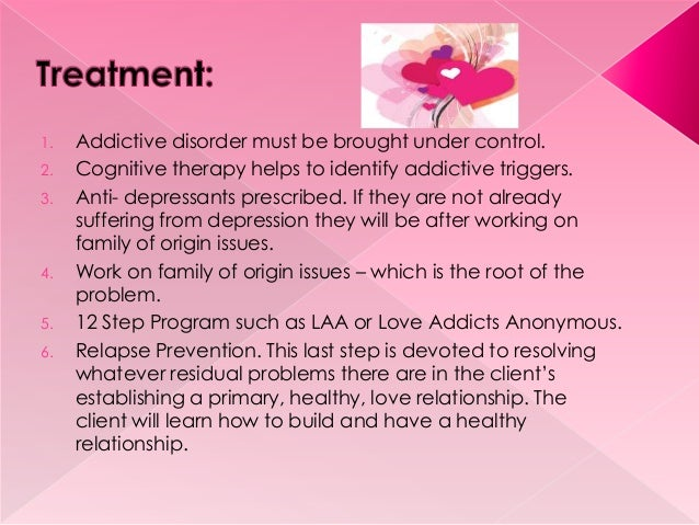 addictive relationship definition business