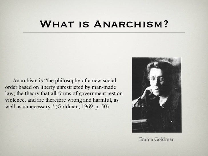 An analysis of libertarian anarchism in political philosophies