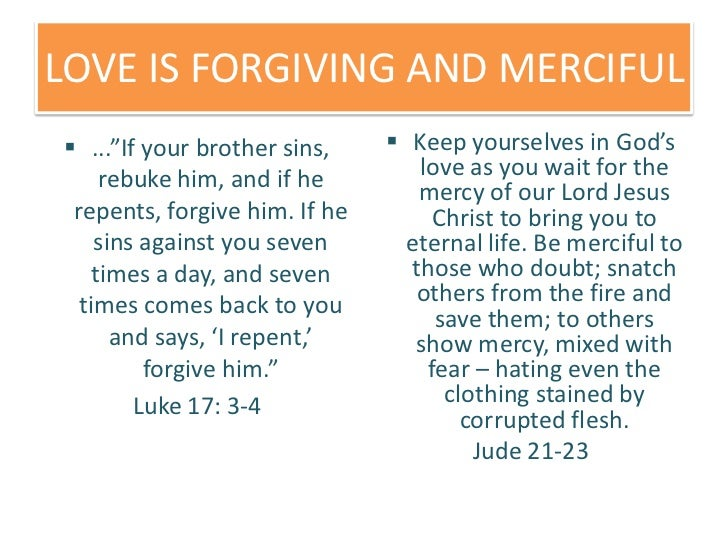 forgive your brother bible