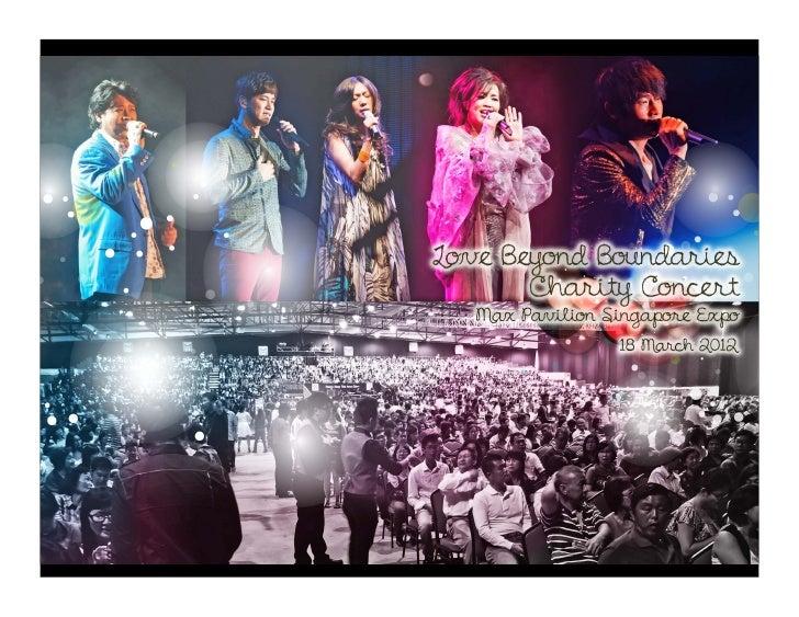 Love Beyond Boundaries Charity Concert 2012