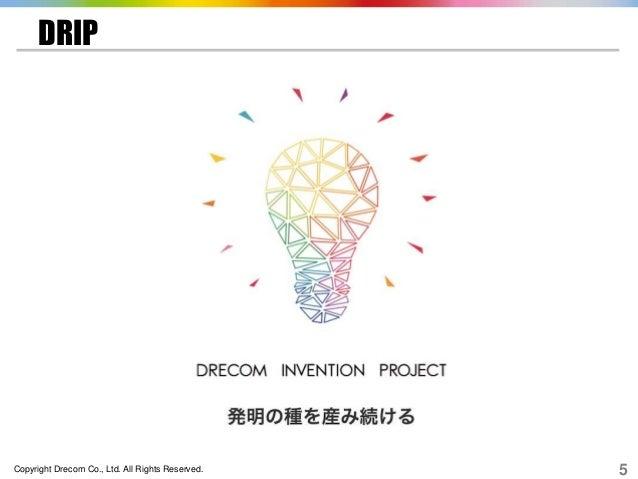 Copyright Drecom Co., Ltd. All Rights Reserved. 5 DRIP