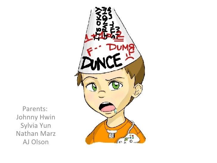 Parents:  Johnny Hwin Sylvia Yun Nathan Marz AJ Olson