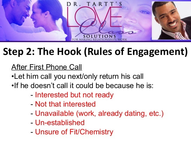 Dating rules phone call