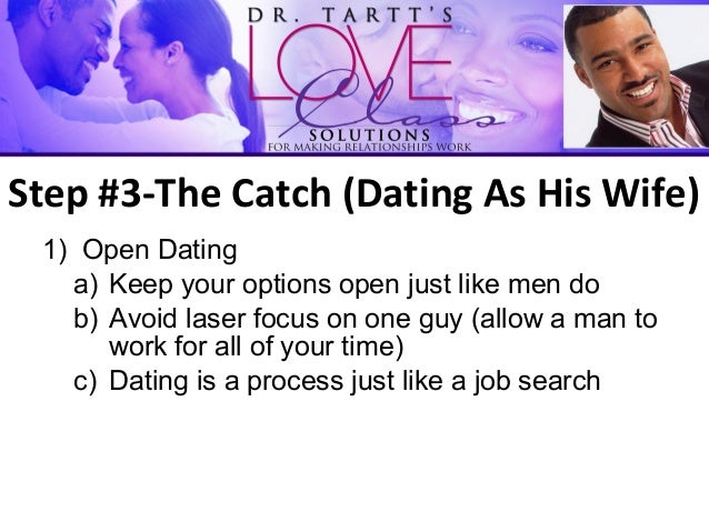 Keeping his options open dating