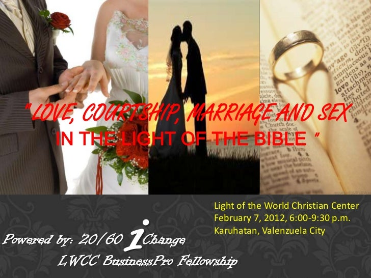 courtship dating and marriage slideshare slide