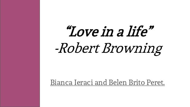 """Love in a life"" -Robert Browning Bianca Ieraci and Belen Brito Peret."