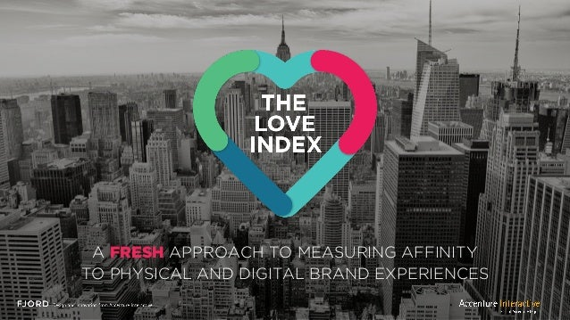 A FRESH APPROACH TO MEASURING AFFINITY TO PHYSICAL AND DIGITAL BRAND EXPERIENCES