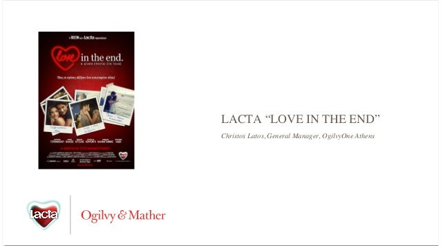 """LACTA """"LOVE IN THE END"""" Christos Latos, General Manager, OgilvyOne Athens"""