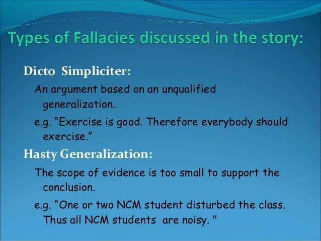 love fallacy short story
