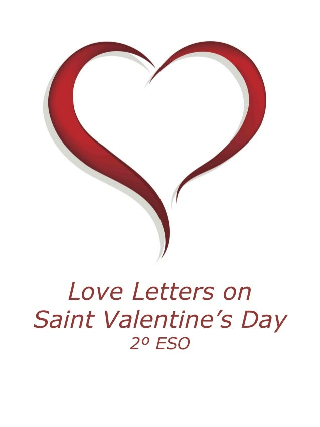 Love Letters on Saint Valentine's Day 2º ESO