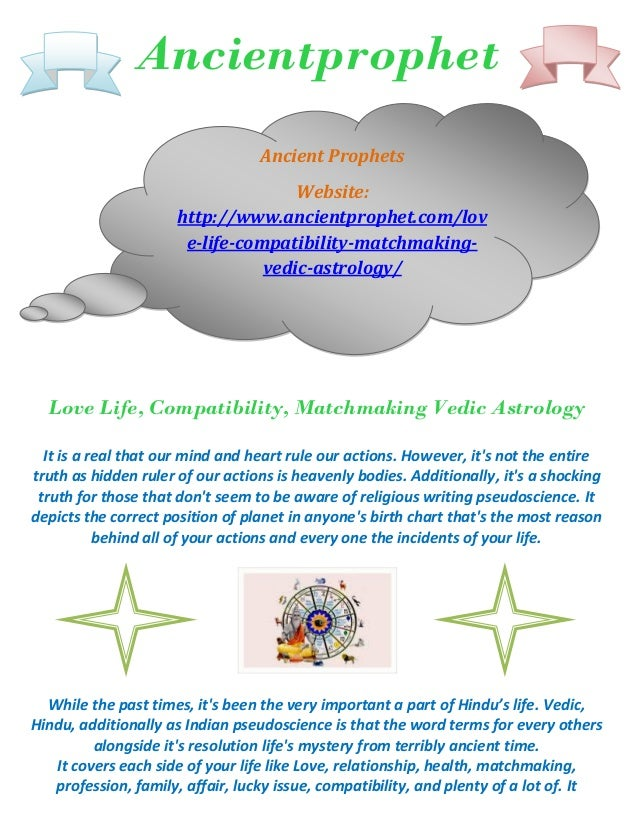 Matchmaking indian vedic astrology