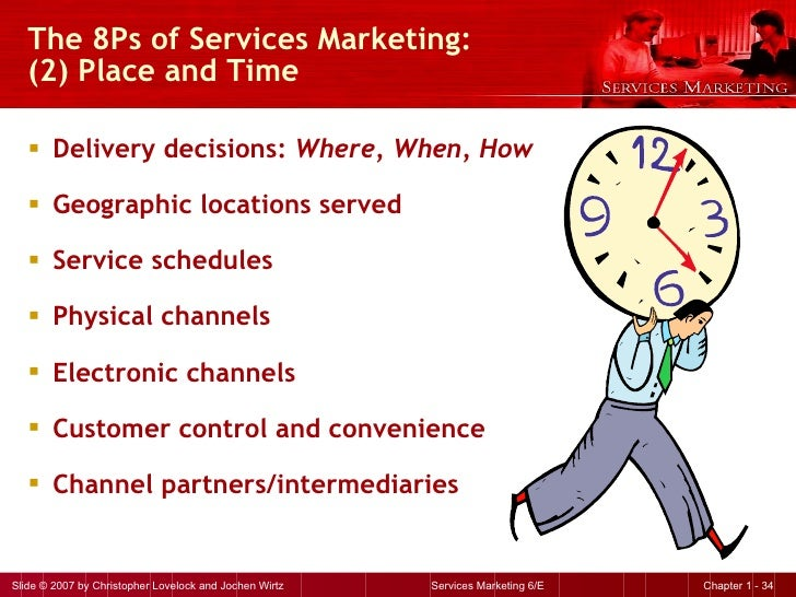 8ps of services marketing Marketing mix (8ps)  –  the tourism marketing system and marketing plan  marketing orientation  3 services marketing different  4.