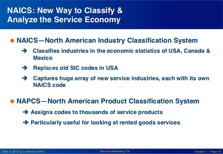 "NAICS: New Way to Classify &   Analyze the Service Economy ""     NAICS—North American Industry Classification System!   ..."