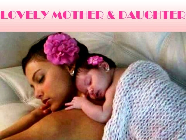LOVELY MOTHER & DAUGHTER