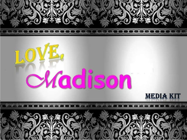 """""""Love, Madison"""" is an online based radio show hosted by two successful, independent, and talented women in the entertainme..."""