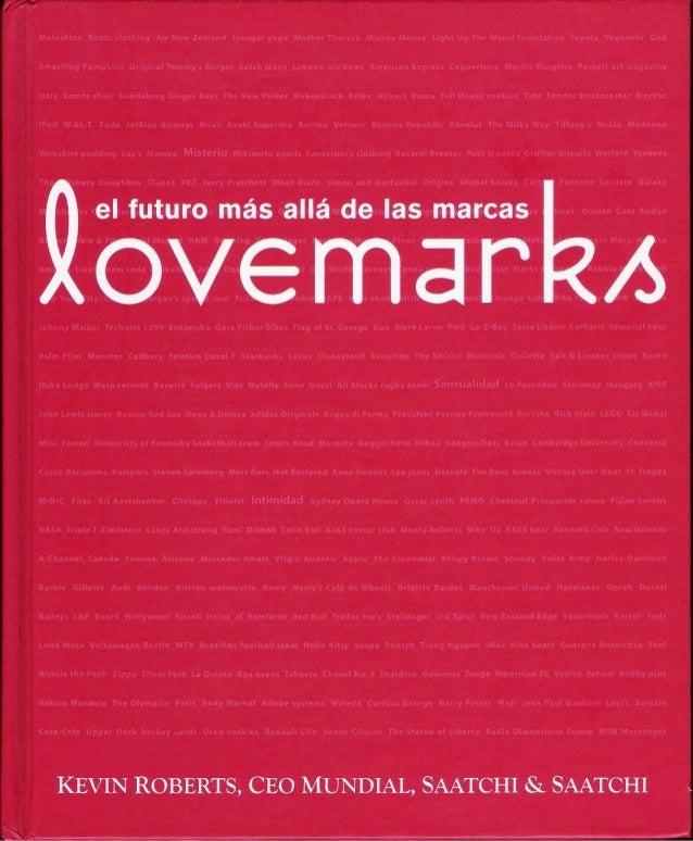 Lovemarks español
