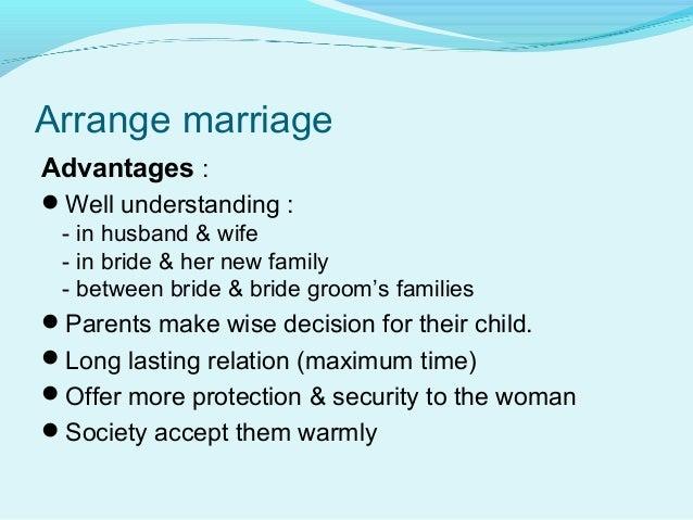 Proposal marriage advantages