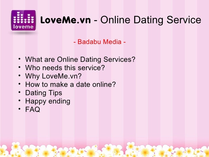 Love me dating service