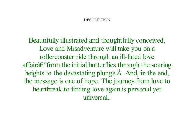 love and misadventure poems