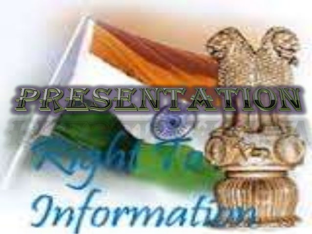 H I ST OR Y The earliest reference to right to information is in 1776, from Sweden, where a convention granting right to i...