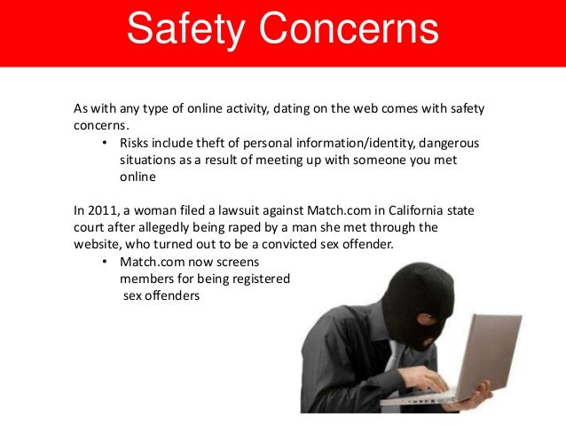 Facts about online dating dangers