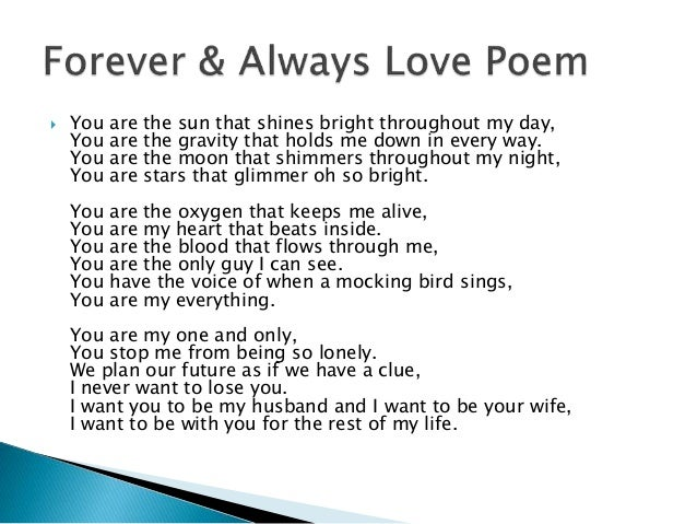 i-want-you-in-my-life-forever | Love message for him, Good ... |I Want You Forever Poems