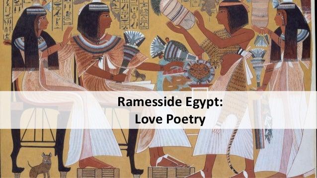 Ramesside Egypt: Love Poetry