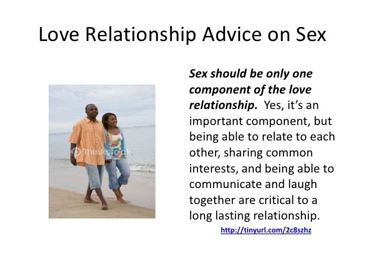 Sex and relationship ad vice