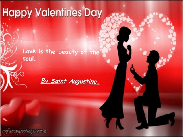 Happy lovers day 2014 greeting cards happy lovers day 2014 greeting cards love is the beauty of the soul by saint augustine m4hsunfo