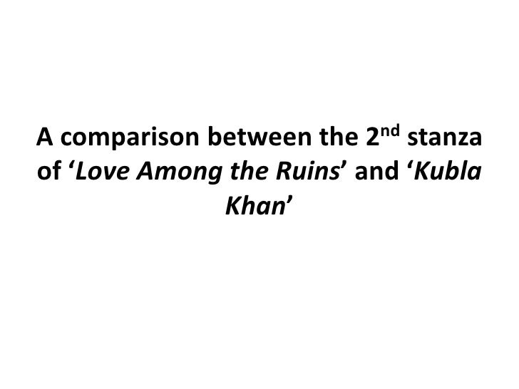 kubla khan analysis essay The essay analysis of the poem kubla khan presents the analysis of the poem kubla khan by samuel coleridge, one of the widely analyzed poems in history due to its deep, captivating nature and a manner with which it helps in the portrayal of an unconscious mind.