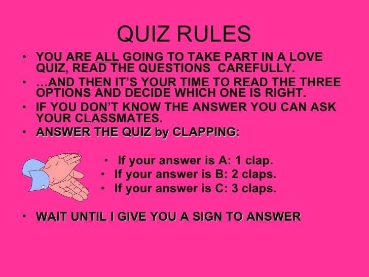 How to tell you re in love quiz