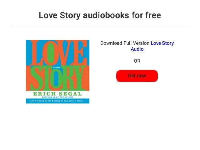 free download of book love story by erich segal