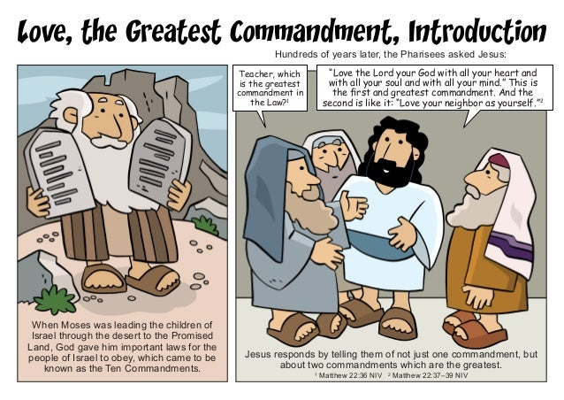commandment relation to christ like love essay A study of the 10 commandments from the law of moses, compared to the covenant of christ by js smith the 10 commandments today a thirteen lesson.