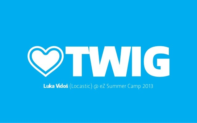 Luka Vidoš (Locastic) @ eZ Summer Camp 2013