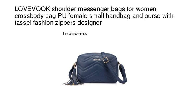 LOVEVOOK shoulder messenger bags for women crossbody bag PU female small  handbag and purse with tassel ... 2a14ddc486d3
