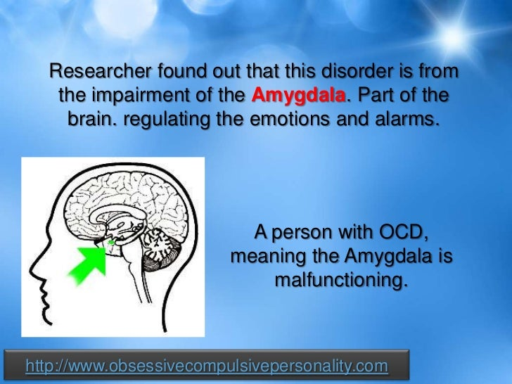 an analysis of the obsessive compulsive disorder a chronic disease Obsessive-compulsive disorder (ocd) is characterized by recurrent intrusive  thoughts,  in functioning due to the severe and chronic nature of the illness   analysis of treatment response in obsessive-compulsive disorder.