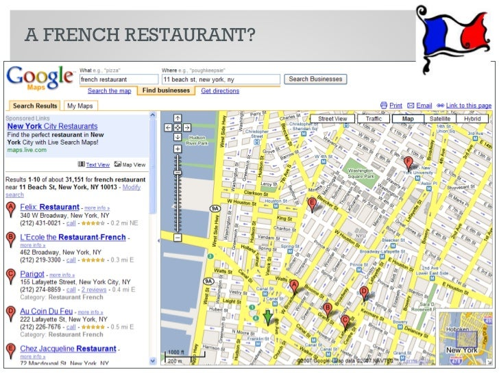 A FRENCH RESTAURANT?     10   © 2010 Razorfish. All rights reserved. Confidential and proprietary.